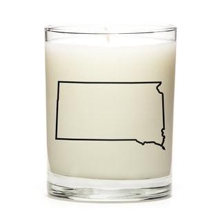 Custom Gift - Map Outline of South-Dakota U.S State, Pine Balsam