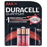 Duracell 66252 Quantum AAA Battery, 6-Pack