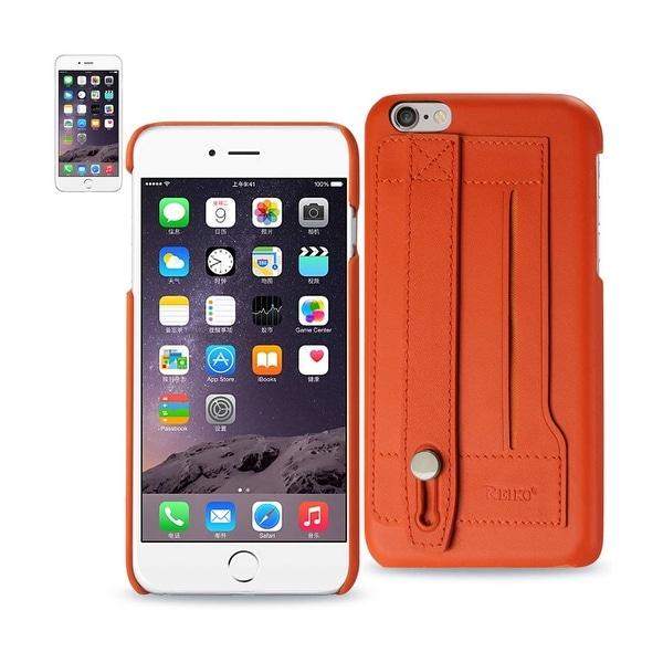 san francisco 1713f 9627c Shop Reiko Iphone 6 Plus Genuine Leather Hand Strap Case In ...