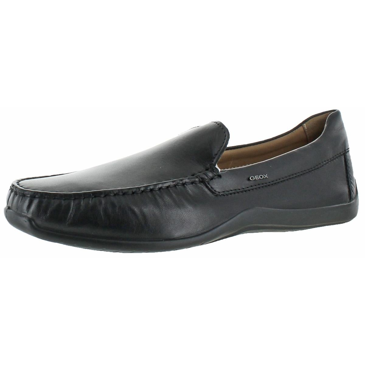Geox Respira Mens Xense Driving Moccasins Leather Loafer