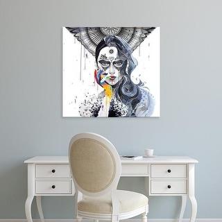 Easy Art Prints Minjae Lee's 'Janus' Premium Canvas Art