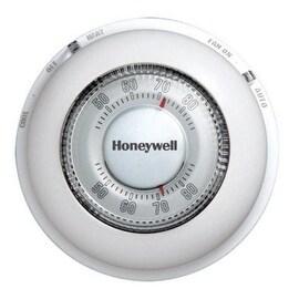 Honeywell YCT87N1006 Mercury Free Round Heat/Cool Thermostat