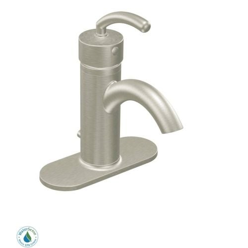 Moen S6500 Single Handle Single Hole Bathroom Faucet from the Icon ...