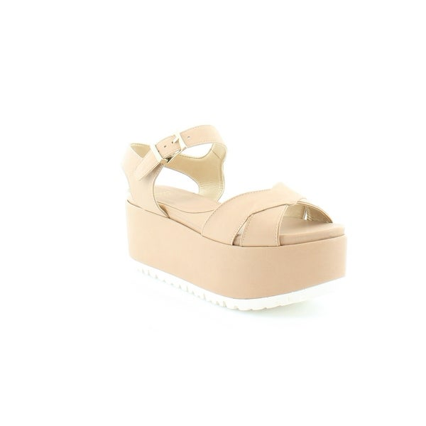 Stuart Weitzman Crosspath Women's Sandals Naked - 8