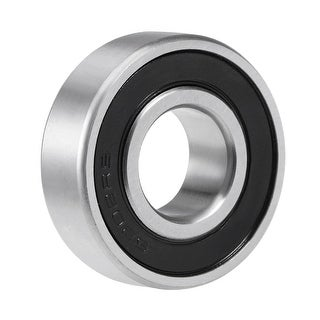 6202-2RS Deep Groove Ball Bearing 15mmx35mmx11mm Double Sealed Chrome Bearings (Z2 Lever) - 1 Pack - 6202-2RS (Z2 Lever)