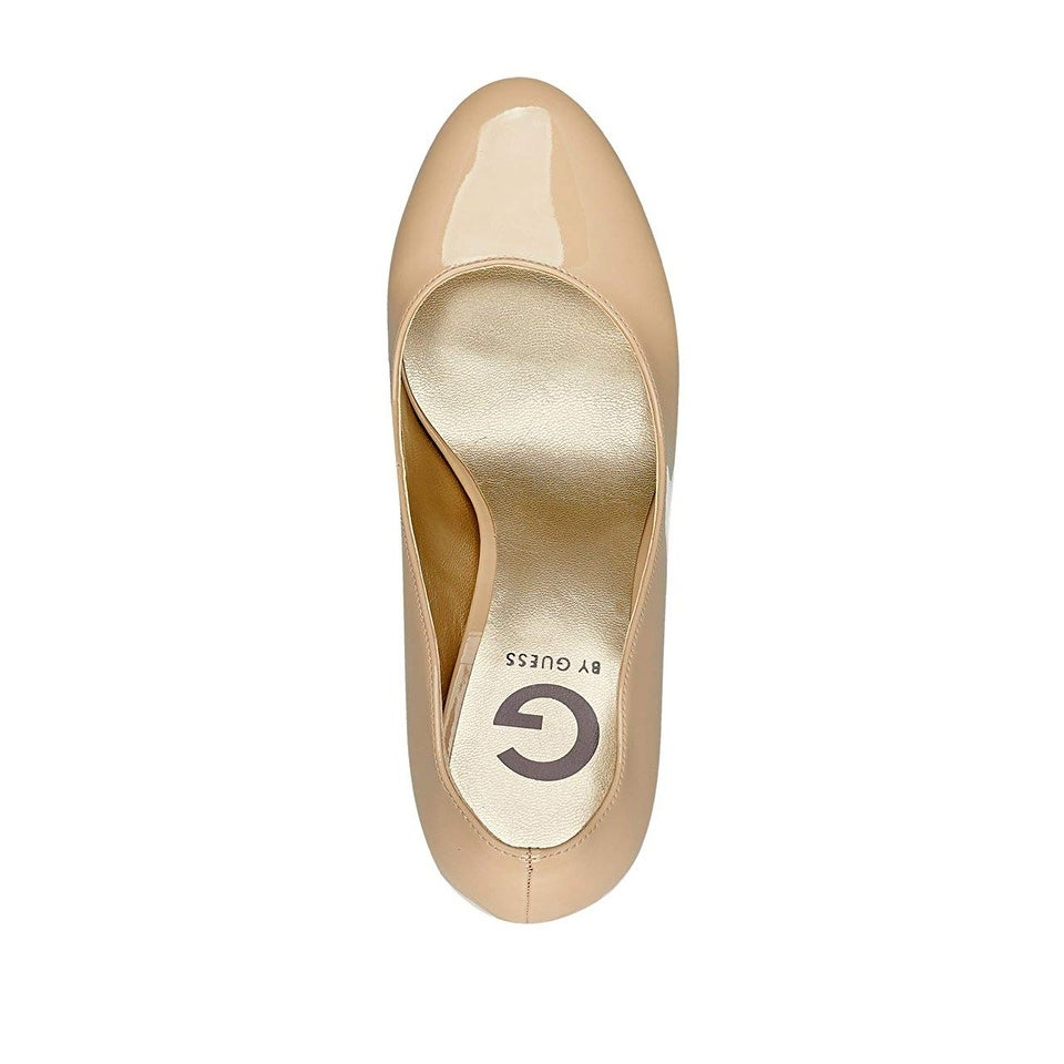 G By Guess Womens Cannor 2 Fabric Closed Toe Platform Pumps