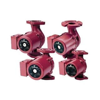 "Grundfos UP 15-42 B5 Bronze Recirculation Pump with 230 Degree Max Temperature Range 5"" Long 1 Phase Motor Sweat Valve"