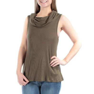 0e51587d72964 Shop ULTRA FLIRT Womens Black Sleeveless Cowl Neck Top Size  M - Free  Shipping On Orders Over  45 - Overstock - 21301892