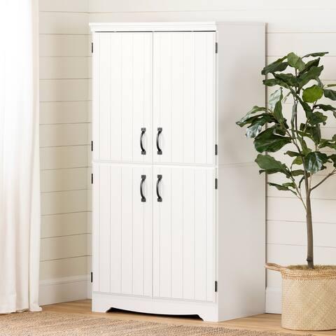 South Shore Farnel 4-door Storage Cabinet
