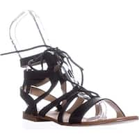 Splendid Cameron Gladiator Sandals, Black