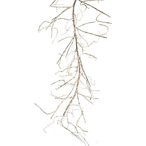 "Pack of 2 Rustic Curvy Birch Branch Garland 65"""