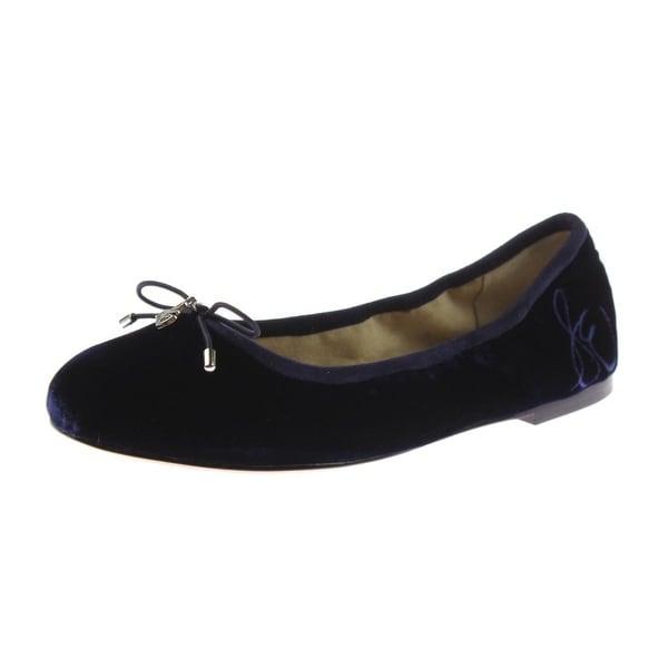 6694f63815c79 Shop Sam Edelman Womens Felicia Ballet Flats Velvet Round Toe - Free ...