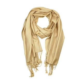 "Link to Beautiful Solid Colors Luxurious Pashmina Scarf Perfect Party Favor - 72"" x 27"" Similar Items in Scarves & Wraps"
