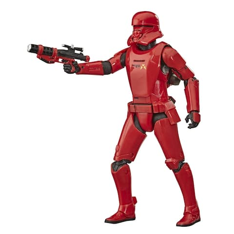 Star Wars The Black Series Sith Jet Trooper Toy 6-Inch Scale Star Wars: The Rise Of Skywalker Figure, Kids Ages 4 And Up
