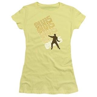Elvis Pointing Juniors Short Sleeve Shirt