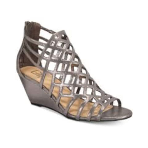 Material Girl Womens Heniet Open Toe Casual Slide Sandals - 9.5