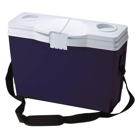 Rubbermaid FG180104MOD 20 Quart Capacity Portable Ice Chest - Blue