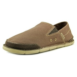 Crocs Cabo Loafer Men Round Toe Canvas Loafer