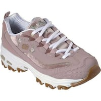 5347fcf0bcdf Shop Skechers Women s D lite - Rose Blooms Rose - Free Shipping ...