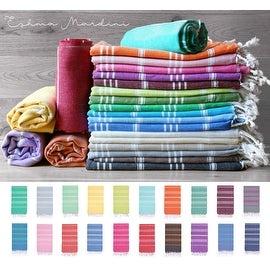 "Eshma Mardini Cotton Swimsuit Cover Up & Bath Beach Travel Towel - 39"" x 70"""