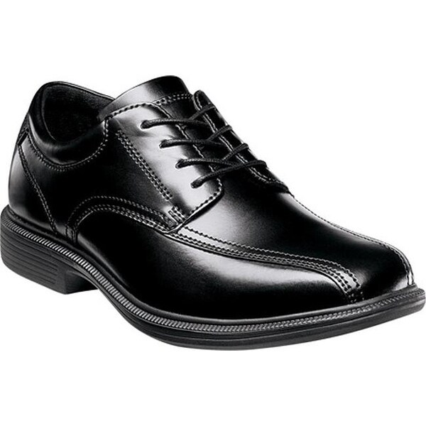 Shop Nunn Bush Men S Bartole Street Black Smooth Leather