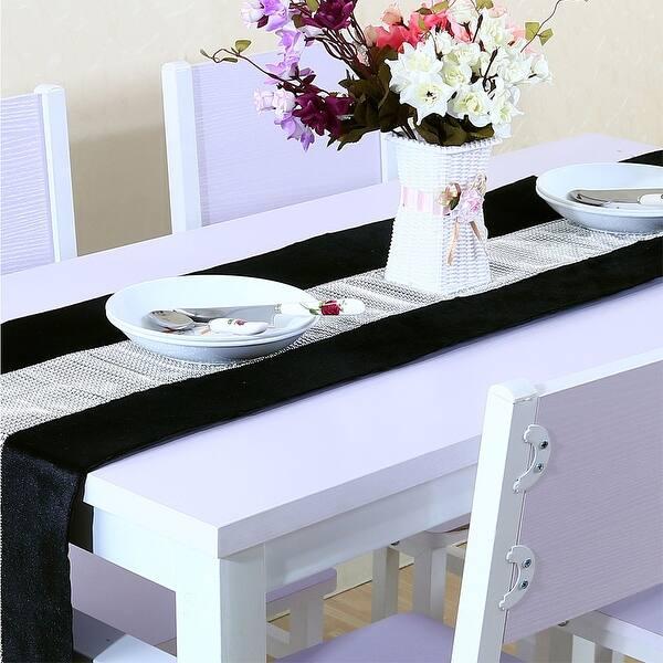 Shop Sparkle Luxury Diamante Table Runner Velvet Wedding