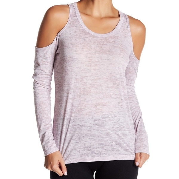 Alternative Womens Small Cold-Shoulder Knit Top