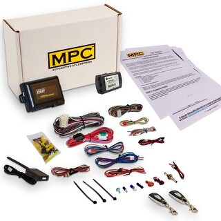 Complete 1-Button Remote Start Kit For 2006-2011 Honda Civic - Includes Bypass - Firmware Preloaded