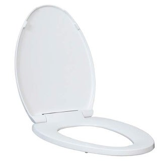 Miseno MNOS2000 Slow Close Elongated Toilet Seat and Lid - White