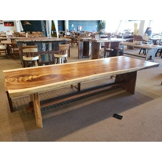 """Link to Chic Teak Suar Live Edge Unique Slab Dining Table - 98"""" Long Similar Items in Dining Room & Bar Furniture"""