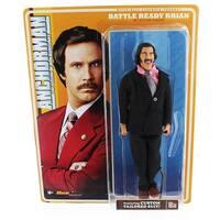 Anchorman 8-Inch Action Figure: Battle Ready Brian - multi
