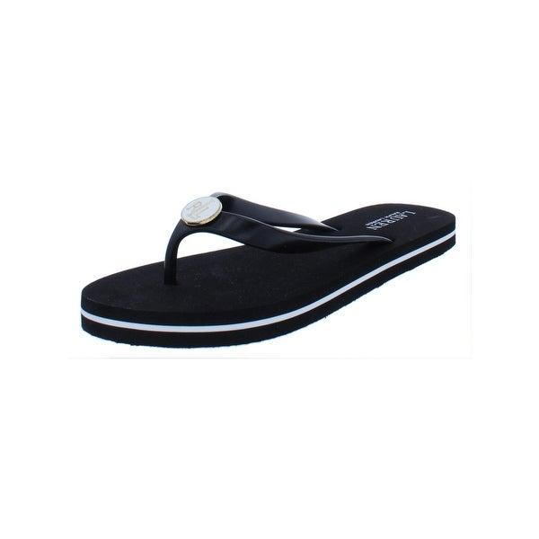92076640613b2 Shop Lauren Ralph Lauren Womens Elissa II Flip-Flops Flat Thong ...