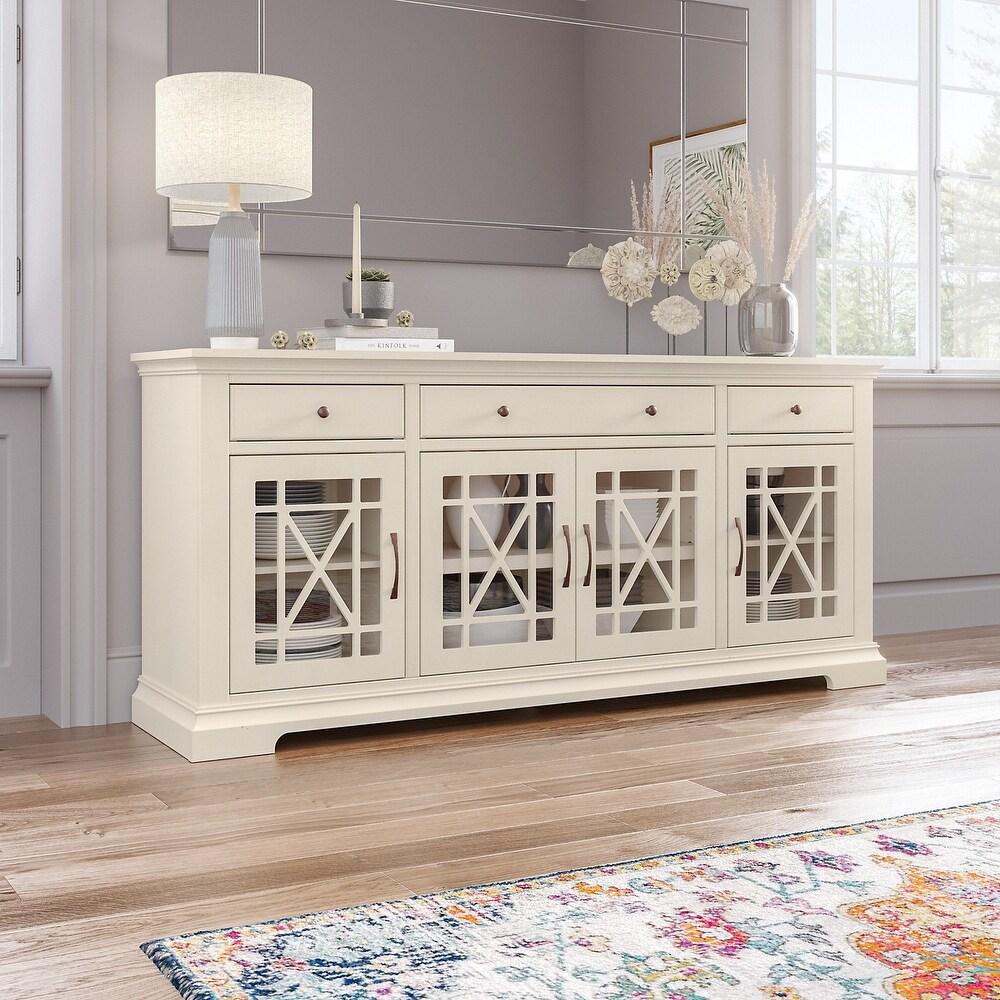 Bush Furniture Magnitude 70W Buffet Cabinet