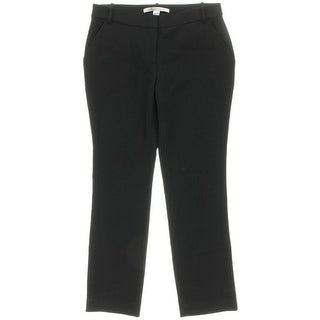 Diane Von Furstenberg Womens Flat Front Solid Dress Pants - 8