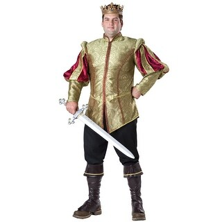 InCharacter Renaissance Prince Plus Size Costume - Gold/Red