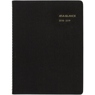 "At-A-Glance Weekly Academic Appointment Planner -July 2018-December 2019, 8.25""X10.875"""