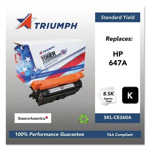 Triumph Remanufactured 647A Toner Cartridge - Black Toner Cartridge
