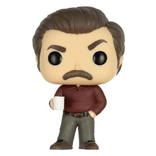 Funko Pop Television: Parks and Recreation - Ron Swanson Vinyl Figure