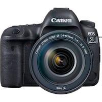 Canon EOS 5D Mark IV DSLR Camera with EF 24-105mm f/4L IS II USM Lens