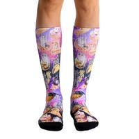 Living Royal Photo Print Sport Socks: Cat Cravings - Multi