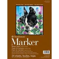 """50# Smooth - Strathmore Marker Paper Pad 9""""X12"""""""