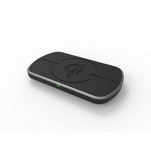 Scosche MagicMount Charge Surface Wireless Fast Charging Magnetic Surface Mount - Black
