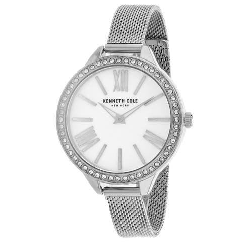 Kenneth Cole Women's Classic White Dial Watch - KC50939001 - One Size