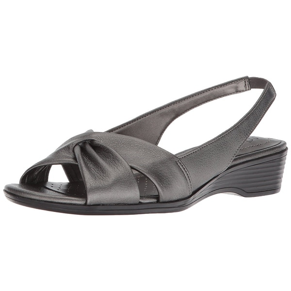 LifeStride Womens Mimosa 2 Open Toe Casual Slingback Sandals