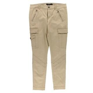 Lauren Ralph Lauren NEW Beige Women's Size 2 Moto Slim Skinny Jeans