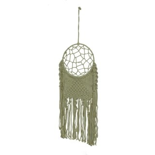 Natural White Boho Style Macrame Dreamcatcher Wall Hanging