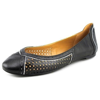 Nine West Accocella Round Toe Leather Flats