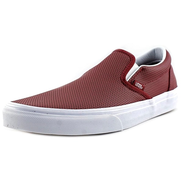 f265c363f7 Shop Vans Classic Slip-On Round Toe Leather Skate Shoe - Free Shipping On  Orders Over  45 - Overstock - 13648981
