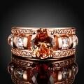 A King's Crown Gemstone Rose Gold Ring - Thumbnail 1
