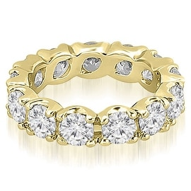 2.70 cttw. 14K Yellow Gold Round Diamond Eternity Ring